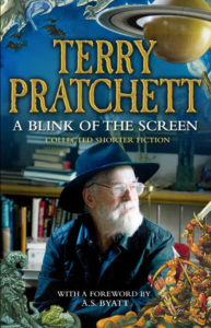 A Blink of the Screen Paperback Book Cover by Terry Pratchett
