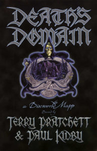 Death's Domain Paperback Book Cover by Terry Pratchett
