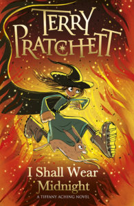 I Shall Wear Midnight Paperback Book Cover by Terry Pratchett