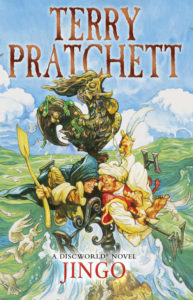 Jingo Ebook Book Cover by Terry Pratchett