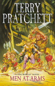 Men At Arms eBook Book Cover by Terry Pratchett