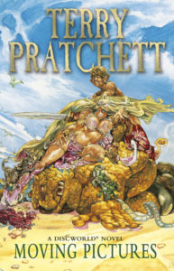 Moving Pictures eBook Book Cover by Terry Pratchett