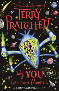Only You Can Save Mankind Paperback Book Cover by Terry Pratchett