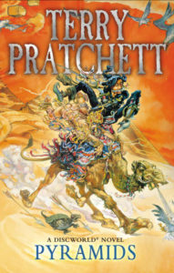 Pyramids Ebook Book Cover by Terry Pratchett