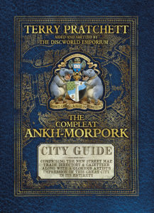 The Compleat Guide to Ankh Morpork Hardback Book Cover by Terry Pratchett
