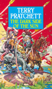 The Dark Side of the Sun Paperback Book Cover by Terry Pratchett