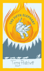 The Fifth Elephant Hardback Book Cover by Terry Pratchett