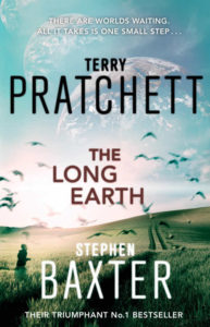 The Long Earth Paperback Book Cover by Terry Pratchett
