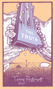 The Truth Hardback Book Cover by Terry Pratchett