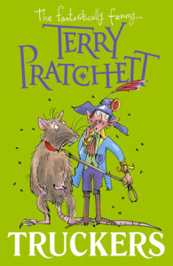 Truckers Paperback Book Cover by Terry Pratchett