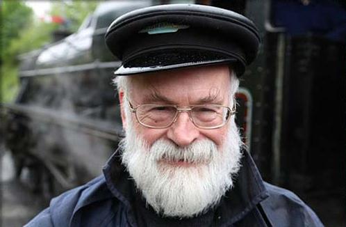 A photo of Sir Terry Pratchett, copyright Pratchett Estate