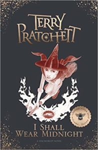 I Shall Wear Midnight Hardback Book Cover by Terry Pratchett