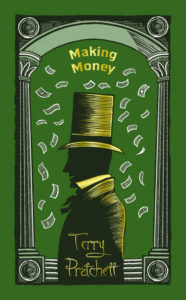 Making Money Hardback Book Cover by Terry Pratchett