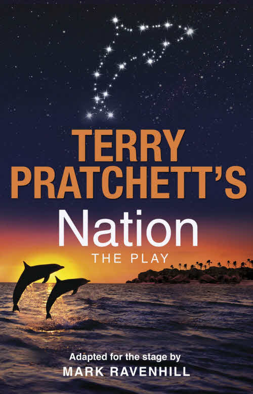 Nation The Play Paperback Book Cover by Terry Pratchett