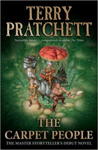 The Carpet People Paperback Book Cover by Terry Pratchett