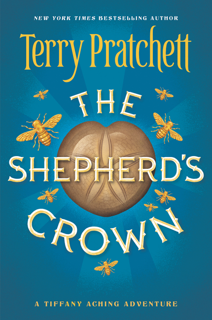 The Shepherd's Crown US Paperback Book Cover by Terry Pratchett