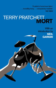 Mort Paperback Book Cover by Terry Pratchett