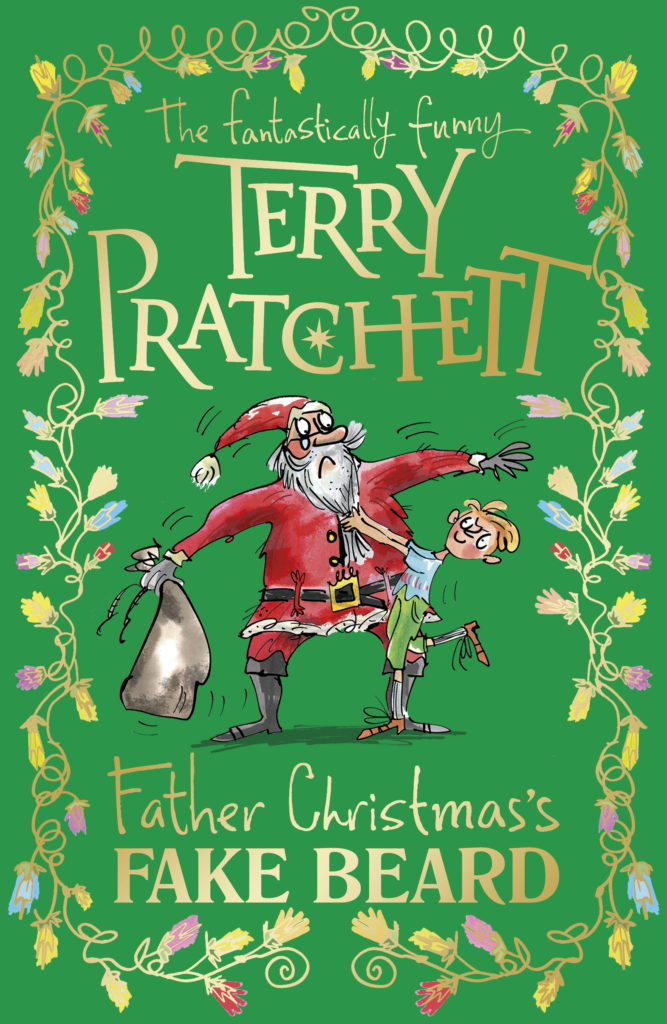Father Christmas's Fake Beard Book Cover by Terry Pratchett